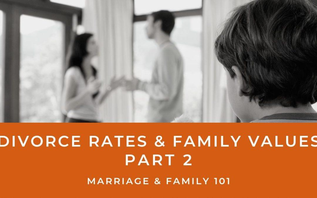 Lesson 9- Divorce Rates & Family Values- Part 2 (Unlimited)