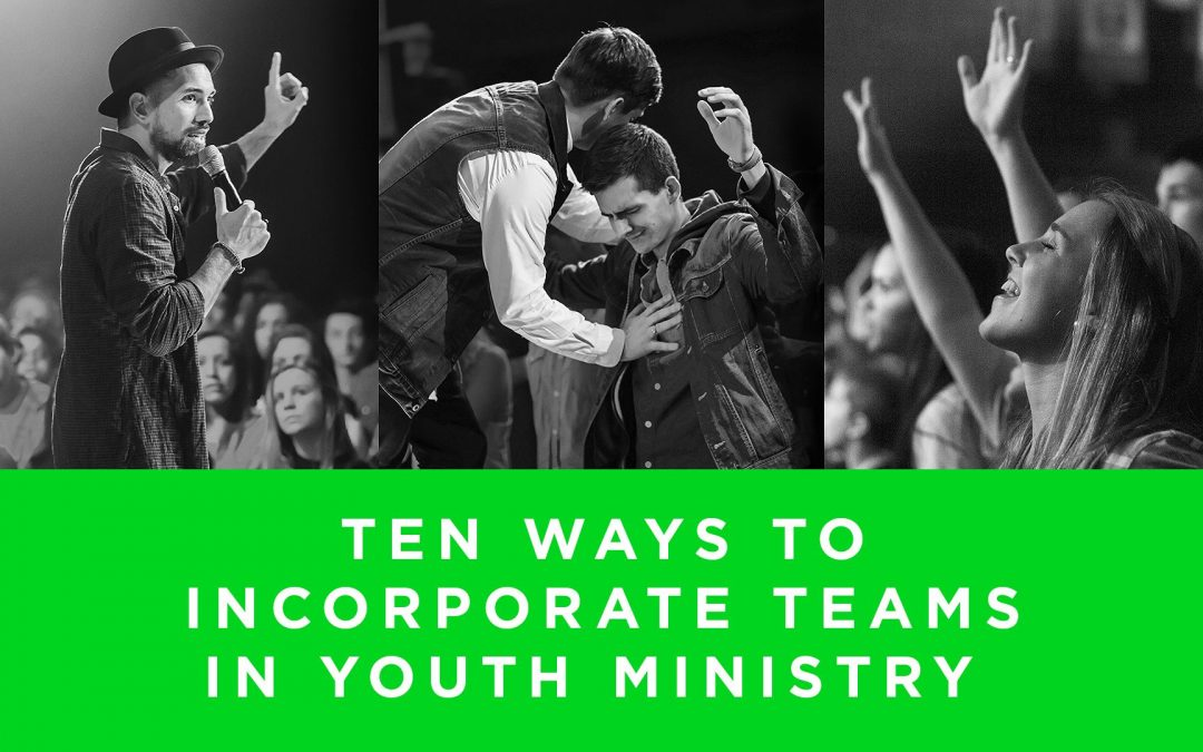 Lesson 8- Ten Ways To Incorporate Teams In Youth Ministry (Rent)